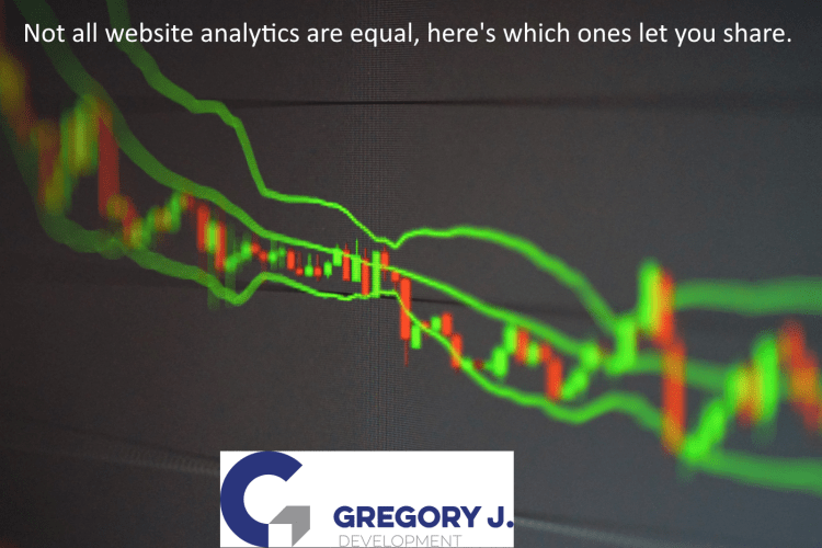 Read more about the article Not all website analytics are equal, here's which ones let you share.
