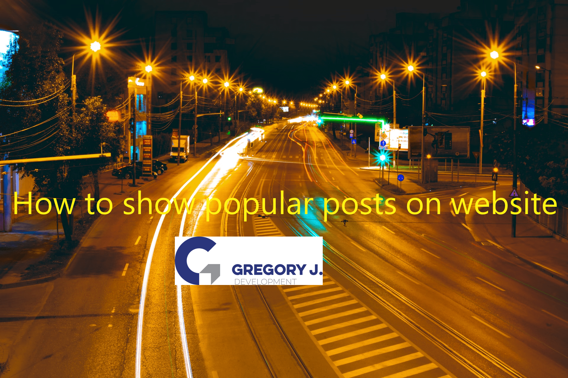 Read more about the article How to show popular posts on website