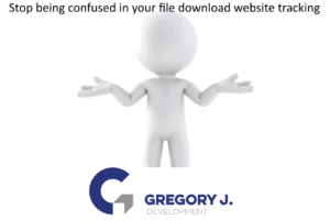 Stop being confused in your file download website tracking
